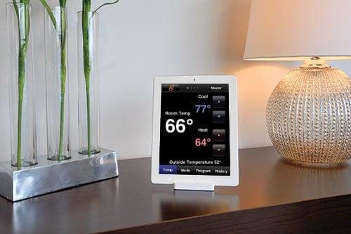 elan thermostat control