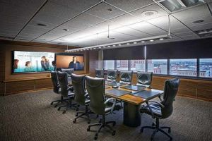 Automation board room