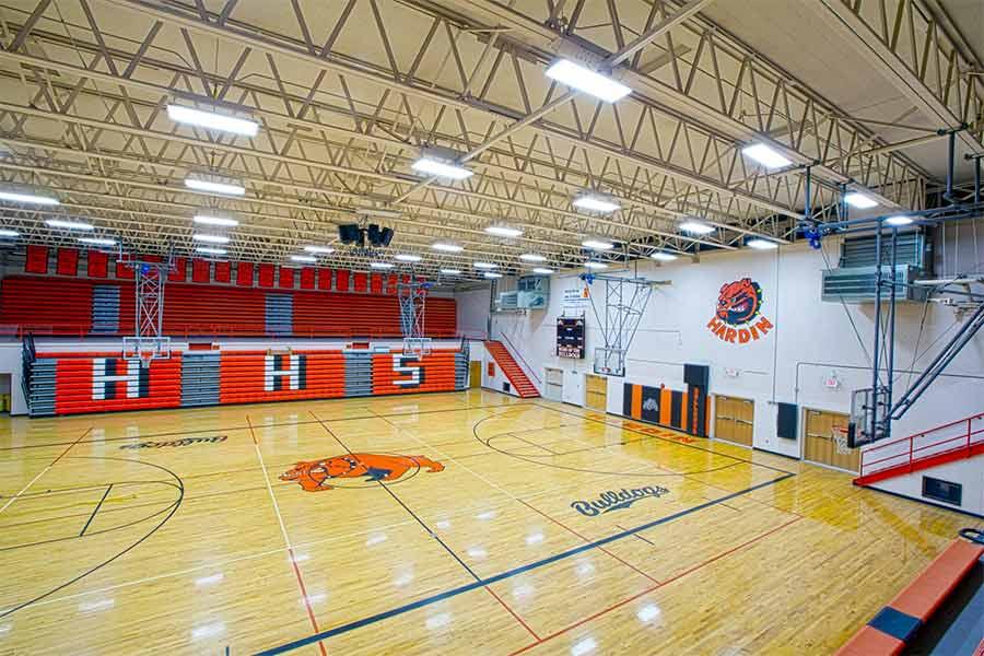 Hardin high school gym