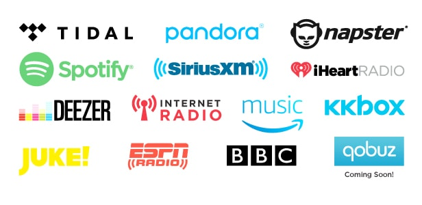Audio Streaming Sources