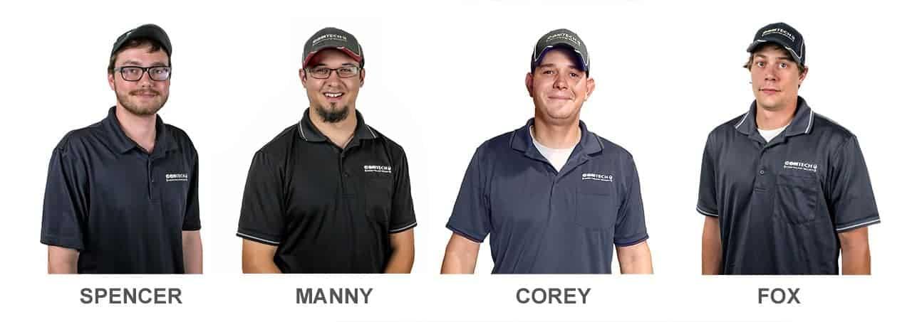 Meet the techs